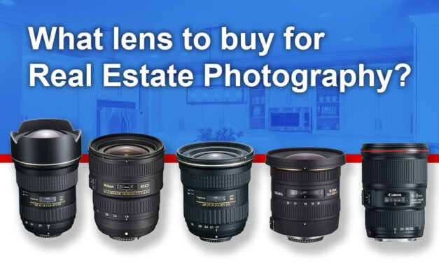 What lens for real estate photography?