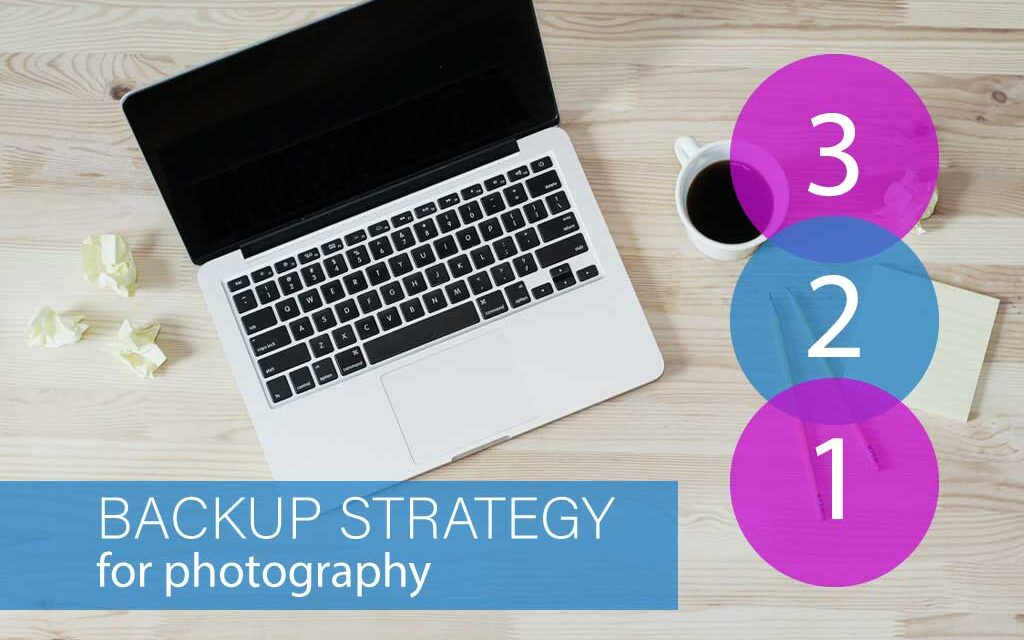 My 3-2-1 Backup strategy for my photography business