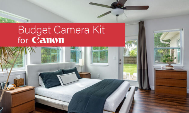 2020 Budget Real Estate Photography Camera Setup (Canon Version)