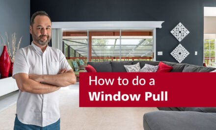 How to do a Window Pull