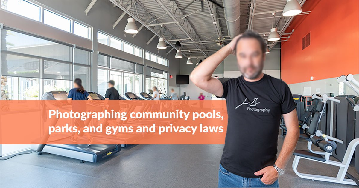 Photographing community pools, parks, and gyms and privacy laws