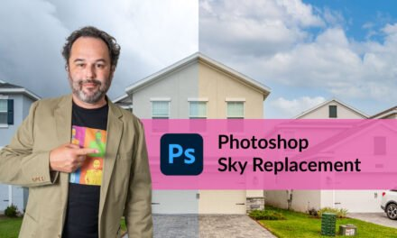 Photoshop Sky Replacement for Real Estate Photography