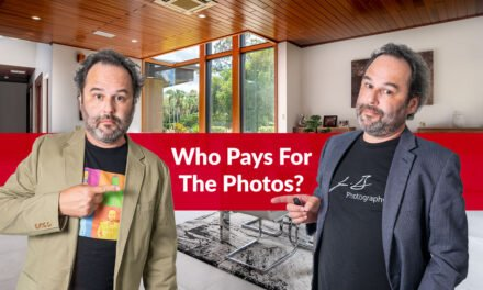 Who pays for the real estate photos, the real estate agent or the seller?