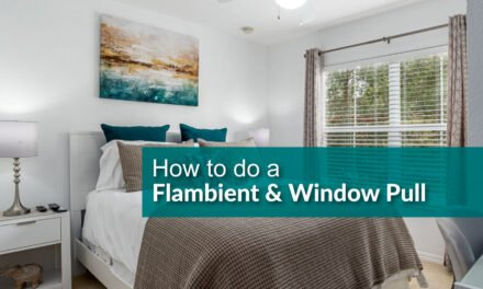 How to shoot a flambient for real estate photography
